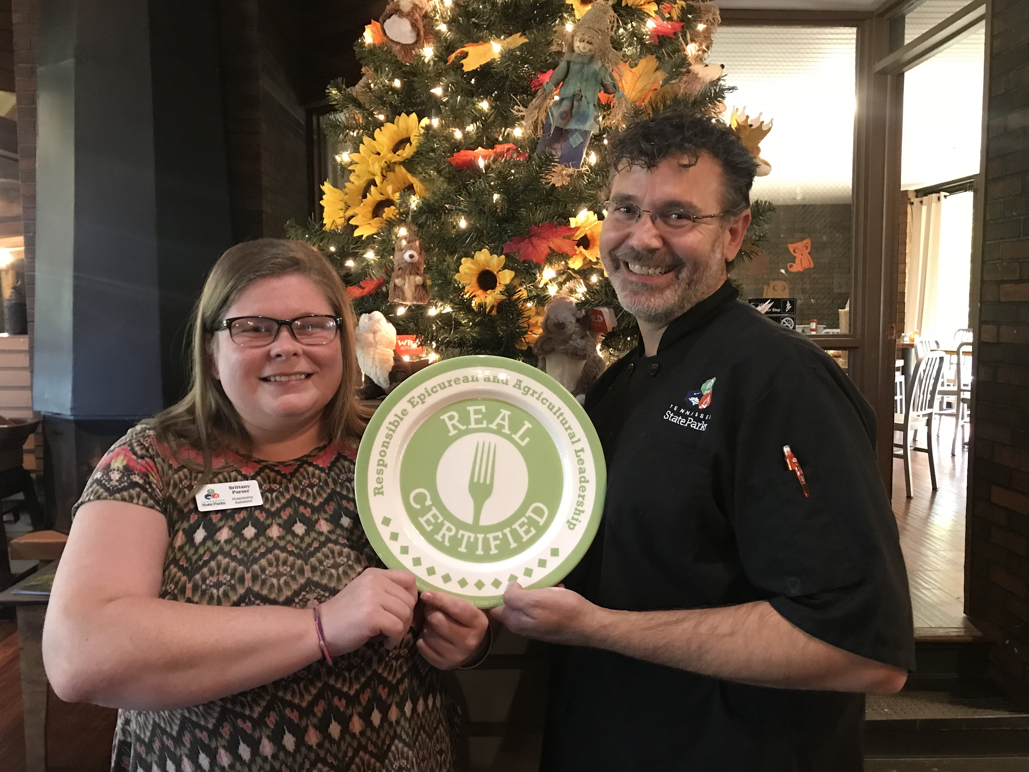 David Crockett State Park achieves Eat Real Certification.