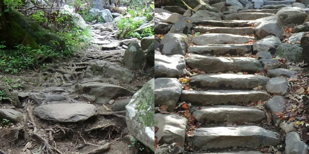 Great Smoky Mountains National Park Celebrates Rainbow Falls Trail Project Completion