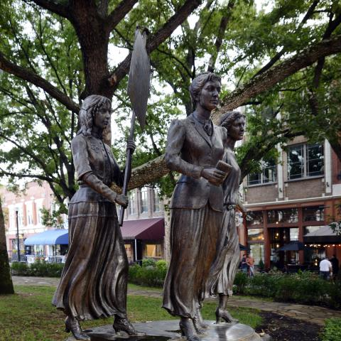 Woman Suffrage Memorial in Knoxville, TN