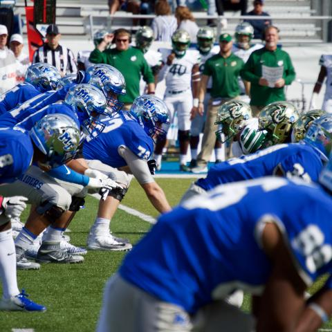 Middle TN State University football in Murfreesboro TN