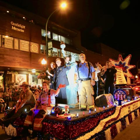 Gatlinburg Celebrates 43 Years of 4th of July Midnight Parade