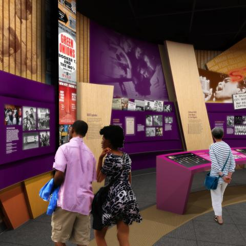 National Museum of African American Music (Rendering)