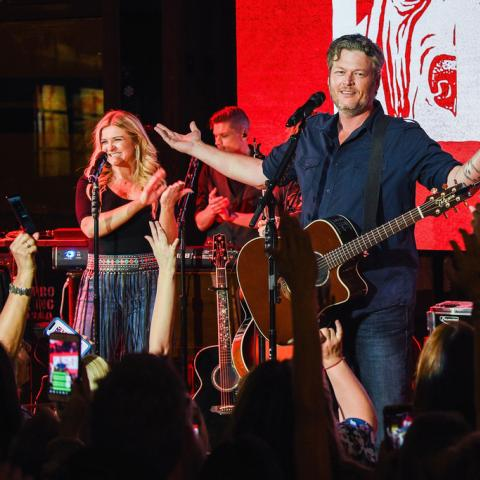 Blake Shelton Celebrates Ole Red Nashville Grand Opening
