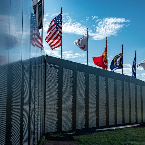 The Vietnam Memorial Traveling Wall
