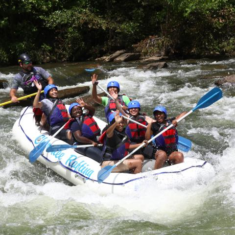 Ocoee River Outfitters Offer Free Raft Trips to Military